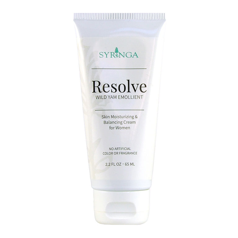 resolve wild yam cream